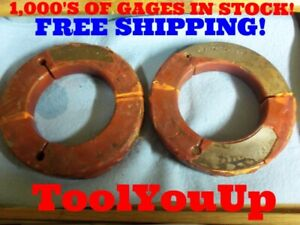 4 5 8 12 Unj 3a Thread Ring Gage Go No Go 4 625 Gauge Machinist Toolmaker Tools
