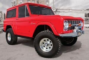 Bushwacker 20001 07 Pair Of Front Cut Out Fender Flares For 66 77 Ford Bronco