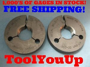 950 32 Uns 2a Special Size Go No Go Thread Ring Gage P d s 9286
