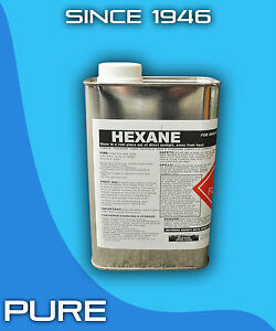 Hexane 1 Gallon Technical Grade Solvent Hexane 4 Quarts