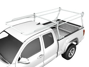 Aa Racks Semi Truck Rack Ladder Side Bar With Long Cab Extension Gloss White