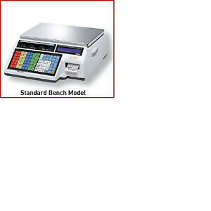 Cas Cl5000b Label Printing Scale Brand New Free Labels