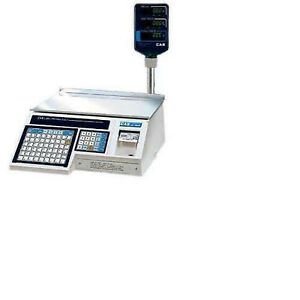 Cas Lp 1000np Label Printing Scale With Pole brand New Free Labels