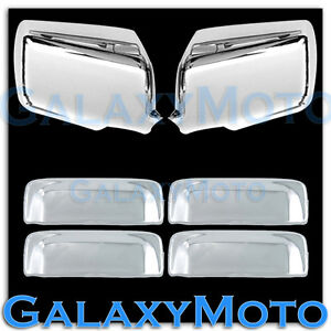 06 11 Ford Ranger Triple Chrome Plated Mirror 4 Door Handle Cover Combo Kit
