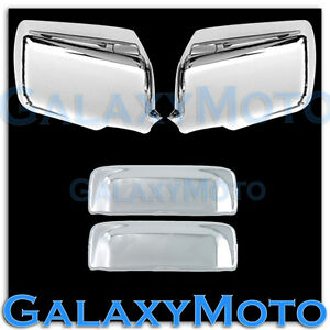 06 11 Ford Ranger Triple Chrome Plated Mirror 2 Door Handle Cover Combo Kit