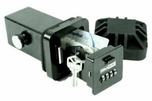 Hitchsafe Hs7000t 2 Trailer Hitch Receiver Solid Steel Safe Combination Key Box