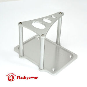 Optima Billet Aluminum Battery Hold Down Tray Clear Anodized