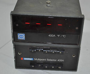 J And W 400a With Doric Multipoint Selector 405a Digital Temperature