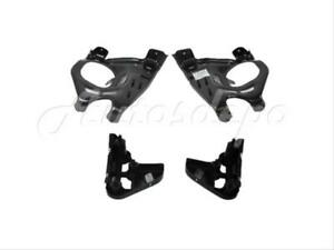For Toyota 2007 2012 Tundra Front Steel Bumper Mounting Arm Support Bracket 4pcs