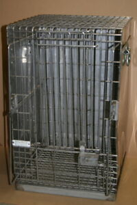 Animal Restraint Cage Stainless Steel 27 X 17 X 19