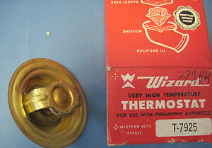 Thermostat Ford Lincoln Mercury Products 1954 1968 And Rambler 1958 1966