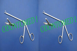 2 Cushing Pituitary Rongeurs 7 2mm straight Ent Surgical Instruments