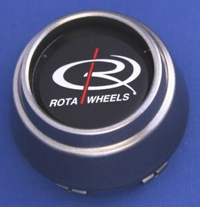 Rota Wheels Plastic Center Cap 2515 Gray 2 5 8 Wide