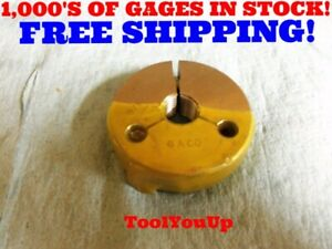 9 16 18 Unf Special Pitch Go Thread Ring Gage Pitch Diameter 5173 Dia 5625