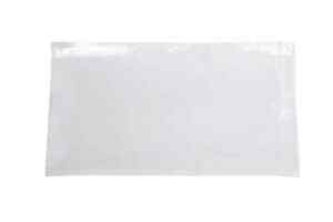 2000 Clear Packing List Plain Face Envelope 5 1 2 X 10 Pouch