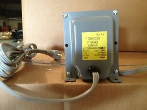Stancor P 8640 Step up Ac Transformer used