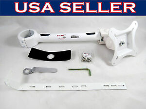 Dental Unit Metal Arm Post Mount Led Monitor Mounted 2 Inch Hole Star5 Usa