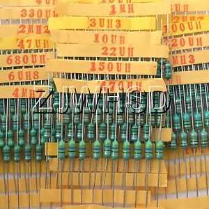 1uh 4 7mh 20value 200pcs 0410 Dip Color Wheel Inductor 1 2w 10 Assorted Set