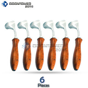 6 Swiss Hoof Knifes Veterinary Surgical Instruments