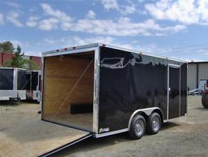 8 5x16 2ft V 18 Insd Enclosed Car Hauler Cargo Motorcycle Trailer New Toy Haul