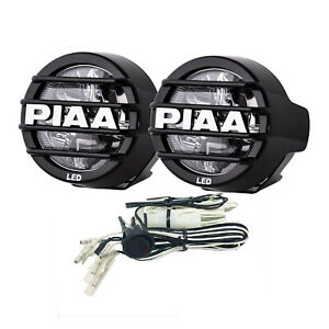 Piaa 5372 Lamp Kit 530 Led Driving Two Lights W Harness Fuse Switch
