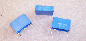 Qty 50 Mmkp376 2200pf 1600v Polypropylene Ac Pulse Rated Box Film Capacitors