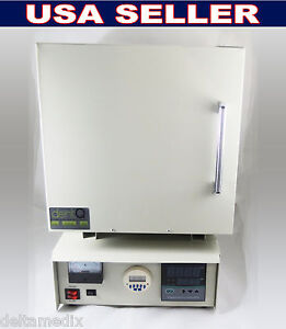 Dental Lab High Temperature Digital Furnace Ceramic Fiber 3300w 120v Dentq