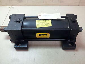 Nos Parker Hydraulic Actuator Cylinder 2h Series 4 X 8 Cc 2htv18ac 5937 3000