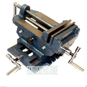6 Heavy Duty Compound Precise 2 Way Cross Slide Vise Tabletop