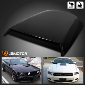 2005 2009 Ford Mustang Gt V8 Racing Hood Scoop Black
