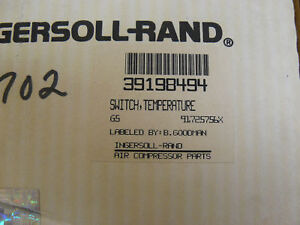 New Ingersoll Rand 39198494 Temperature Switch