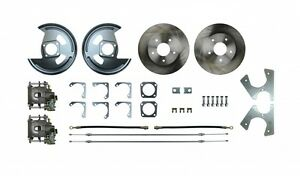 Afxrd05 Rear Disc Brake Conversion Kit Gm 10 12 Bolt C Clip Staggered Shocks