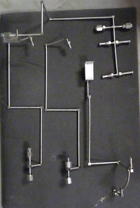 Lot 4 Pieces Stainless Steel Fittings 1 2 Vcr Misc