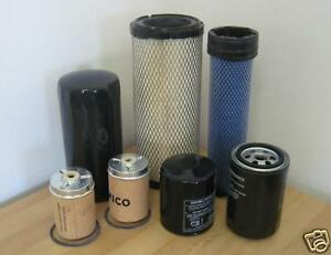 Mahindra Tractor Economy Pack Of 7 Filters 0455 0456 1778 1778 3427 6115 0316
