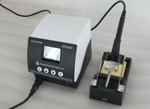 New Solder Iron Station Automatic Adjust Temperature Us Seller