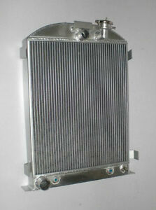 New 3 Row 4 Pass Model A Radiator Ford Engine Ford Grill Shells 1928 31 30 29 28