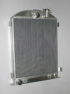 New 3 Row Model a Radiator Ford chopped engine Ford grill shells 1928 31 30 29