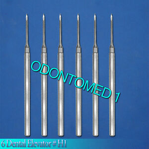 6 Dental Elevator H1 Surgical Dental Instruments