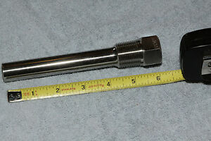 Ashcroft Thermometer Well Thermowell 6 Straight Shank 316ss
