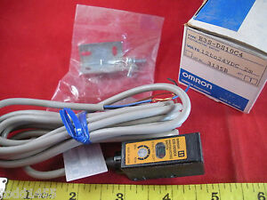 Omron E3s ds10c4 Photoelectric Sensor Switch 12 24v Dc 2m 3 Wire Nos New