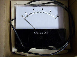 Honeywell Meter Ms3 0 10 Ac Volts New Old Stock