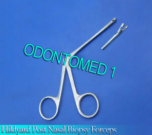 Hildyard Post nasal Biopsy Forceps Ent Surgical Inst 2mm Cup