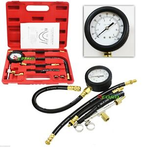 Fuel Injection Pump Injector Tester Gas Combustion Spary Pressure Gauge Diagnost