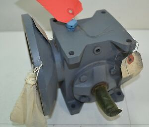 Nos Grant Worm Gear Speed Reducer Reduction Unit Ratio 5 1 Sz 133 Style Stf