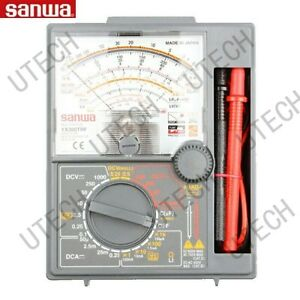 Sanwa Yx360trf Lcd Ac Dc Ohm Volt Analog Multitesters drop Shock Proof Meter