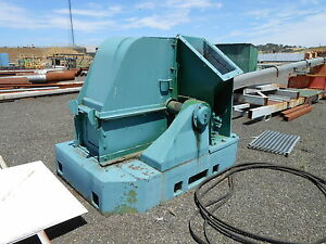 Sawmill Chipper 54 8 Knife 18 Knifes 24x16 Top 21x69 Bottom