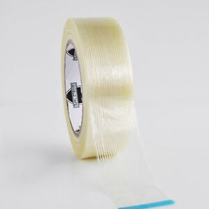 48 Rolls 1 1 2 60 Yds Filament Strapping Tape Fiberglass Packing Tapes 3 9 Mil