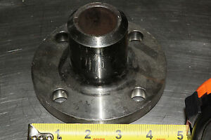 Stainless Steel 4 75 Round Motor Mount Flange With 1 24 Bore keyed