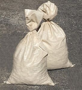 Sand Bags qty 100 Beige Sandbags For Flooding Wholesale Bulk By Sandbaggy