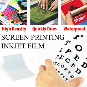 50 Sheets 100 Micron Water Proof Inkjet Translucent Film 13 X 19 4 Mil